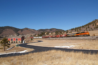 BNSF 8798 Palmer Lake 17 Feb 18