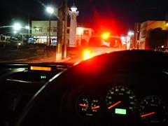 I will follow this red light. (憂-ICHIRO) Tags: street snap ricoh gr digital iv