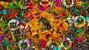 Bildschichten Fruechteteller 84 (wos---art) Tags: früchte arrangements stillleben fotografie bildschichten früchteteller obstteller geschnittenesobst früchtestücke inliebe füresther obst orangen kiwi banane birne himbeeren ananas weintrauben apfel