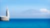 Morocco from Tarifa (kate willmer) Tags: sea mountain harbour blue sky cloud landscape seascape seaside mediterranean tarifa spain andalucia