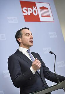 Pressekonferenz Christian Kern