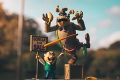 Magilla Gorilla (Caio Botter) Tags: hanna barbera actionfigure toy toys