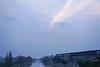DSC08644 (homfen) Tags: 傍晚 天空 河流 废弃厂房