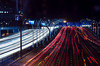 On the way from work (Gadjowsky) Tags: light lightpainting traffic nikon nature nikond5100 night nightphotography longexposure dubai businessbay uae ambient atmosphere