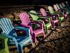 Winter beach (Ulrich Neitzel) Tags: beach chair colour diagonal elbstrand farbe hamburg mzuiko1240mm olympusem1 övelgönne sonne strand stuhl sunshine winter