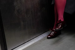 Colored (Matthieu Panicucci) Tags: burgundy cherry varnishes shoes paris