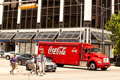 Big Red Truck That Carries My Heart (Thomas Hawk) Tags: america austin cocacola texas usa unitedstates unitedstatesofamerica fav10
