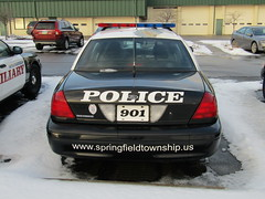 Springfield Township Police Department (Evan Manley) Tags: springfiled township townshippolice akron ohio fordcrownvictoria lake
