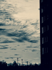 Tuesday Sunset 4 (CloudBuster) Tags: sunset zonsondergang vandaag today red orange pink sky lucht hemel prachtig amazing cold winter day koude dag friesland fryslân nederland the netherlands colours kleuren zon sun afternoon middag