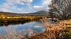 Fond memories... (Einir Wyn Leigh) Tags: landscape river wales memory love light sunshine january mountain reflection clouds water grass tree
