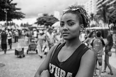 """Girl from Leme"" Rio de Janeiro, Brasil (MUDILANE) Tags: copacabana leme people brasileiro leica leicam mlazarevphoto travel street streetphotography tropical oment portrait retrato 35mm"