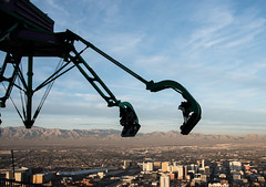 Insanity: The Ride (scattered1) Tags: 2017 lasvegas mountain nv nevada observation silhouette stratosphere valley amusement casino deck high hotel observationdeck resort ride thrill tower unitedstates us