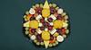 Bildschichten Fruechteteller 12 (wos---art) Tags: früchte arrangements stillleben fotografie bildschichten früchteteller obstteller geschnittenesobst früchtestücke inliebe füresther obst orangen kiwi banane birne himbeeren ananas weintrauben apfel