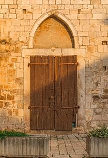 Old Franciscan Church Door