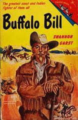 Pocket Book J-48 (Boy de Haas) Tags: vintage paperbacks vintagepaperbacks 1950s fifties cowboys wildwest buffalobill