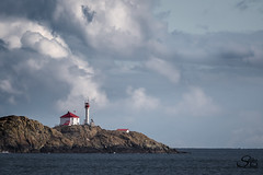 Winter Skies (Selkii's Photos) Tags: britishcolumbia harostrait strait trialislandlighthouse vancouverisland water