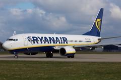 Boeing 737-800 (Kingfisher1951 David Ward) Tags: airliners boeing737800 ryanair bournemouthairport