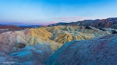 Soliloquy (Photosuze) Tags: zabriskipoint deathvalley landscape sunset sky clouds hills mountains terrain california nationalpark