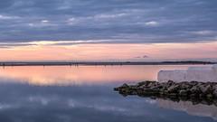 West Kirby Marine Lake (3) (Maria-H) Tags: westkirby england unitedkingdom gb marinelake sunset reflection wirral merseyside uk olympus omdem1markii panasonic 1235