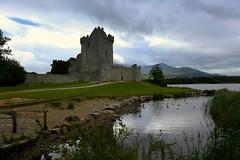 Ross Castle (annalisabianchetti) Tags: castle castello killarney lake lago water clouds nuvole history travel irlanda ireland europa