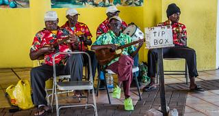 2017 - Regent Cruise - Basseterre St. Kitts - Calypso Band