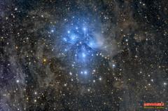 M45-LRGB (Maurizio Cabibbo) Tags: telescope stars astronomy astrophotography night skynight nebula science long exposure pleiades dark deepsky universe space
