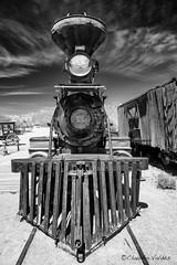 "The Virginia and Truckee Locomotive #11 ""Reno"" (claudiov958) Tags: arizona biancoenero blackwhite blancoynegro černýabílý claudiovaldés czarnyibiały ngc nikkor2470mmf28 nikond800e noiretblanc oldtucson pretoebranco schwarzundweiss черноеибелое"