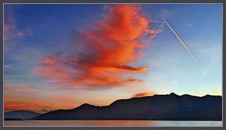 Luino Sonnenuntergang