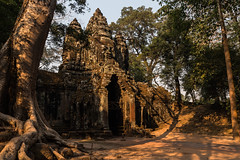 Angkor   |   Angkor Thom North Gate (JB_1984) Tags: northgate gate tree temple ruin decay carving stone stonework masonry khmer light shadow angkorthom templesofangkor siemreap krongsiemreap cambodia cambodge kampuchea nikon d500 nikond500