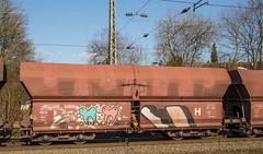 046_2018_02_22_Wuppertal_Sonnborn_6185_367_DB_mit_Falns_Köln (ruhrpott.sprinter) Tags: ruhrpott sprinter deutschland germany allmangne nrw ruhrgebiet gelsenkirchen lokomotive locomotives eisenbahn railroad rail zug train reisezug passenger güter cargo freight fret wuppertal sonnborn wsw schwebebahn db eloc 4 48 110 111 146 185 0422 1440 4492 6110 6111 6146 6185 stopfmaschine schotterplaniermaschine ic ice rb rb48 re re4 s9 txl txltxlogistik outdoor logo natur graffitischienenwalzzeichen