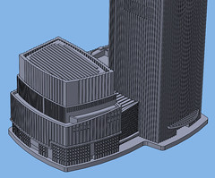 1:2000 CTF Finance Centre Base (Doctor Octoroc) Tags: ctf chow tai fook finance centre center building skyscraper tower structure architecture tallest guangzhou china city 3dprinting shapeways