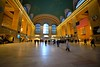 Main Concourse (grumpyff) Tags: gct grandcentralterminal train station trainstation railroad terminal nyc newyorkcity newyork newyorkcentral architecture marble public windows informationbooth metronorth