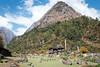 Pyramid Mountain of Gho (Kelsie DiPerna) Tags: nepal trekking hiking backpacking trek manaslu manaslucircuit tsumvalley circuit loop longdistance outdoors active extreme adventure alpine highaltitude himalayas pyramid mountain landscape outdoor gho