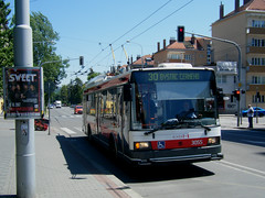 Brno trolleybus No. 3055 (johnzebedee) Tags: trolleybus transport publictransport vehicle brno czechrepublic johnzebedee skoda skoda21tr