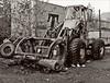 img260copy (cora.anne) Tags: skidder logging sepiatoned