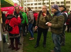 BOYC1027 (Leopoldo Esteban) Tags: leopoldoesteban agentschapintegratieeninburgering sindicatos syndicats actie staking 170
