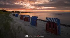 Baltic Sea (mr.wohl) Tags: strandkorb ostsee rügen balticsea sonnenuntergang sundown dawn see meer sonne sun sky himmel wolken clouds cloud