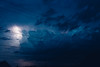 Thunder and lightning (Frostroomhead) Tags: thunder lightning dark night storm thunderstorm nikon d5200 sigma 30mm f14 blue clouds