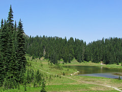 Tipsoo Lake at Mt. Rainier NP in WA (Landscapes in The West) Tags: mountrainiernationalpark washington pacificnorthwest pnw landscape nature outdoor tipsoolake