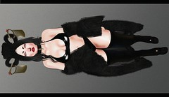 Just because i'm used to it, Dosen't mean it dosen't hurt anymore (Roxy Restless~Naito) Tags: xxxevent catwa maitreya opulein aii anatomy xuxu cx doux sass rowne virtual secondlife girl fashion hair pose shoes blog flickr photo photography photoshop event shopping