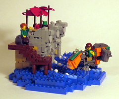 RecyclenatorV2a (Shmails) Tags: lego speeder bike contest garbage recycle