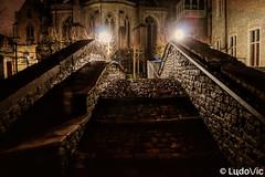A night in Bruges (20) (Lцdо\/іс) Tags: brugge belgique belgium belgie old oldcity town bridge pont bonifacius travel city citytrip voyage medieval lцdоіс pavés night nightcity