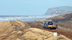 Bracing (Richie B.) Tags: 7c20 sellafield cumbria drs direct rail services vossloh stadler caterpillar class 68 68032 68005 pfa