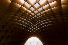 Holz_Tag 18 (tan.ja1212) Tags: kirche church architektur architecture kreuz crucifix licht light schatten shadow holz wood dach roof