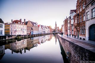 Avant la nuit  à Bruges