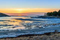 Beach (Frode....) Tags: tomeidet dønna sunset beach landscape tomma solnedgang strand landskap hav sky helgeland ocean coast fjære kvervan nordland norway no