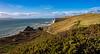 Coast (Peter Leigh50) Tags: fujifilm fuji xt10 dorset landscape coast cliff hill gorse bush heath grass sea sky water wave weymouth seascape