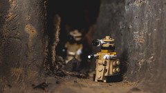 Seek and Destroy (3rd-Rate Photography) Tags: dalek doctorwho lego toy toyphotography robot canon 100mm macro rust jacksonville florida 3rdratephotography earlware 365 exterminate