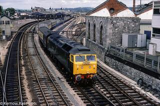 Sir Daniel Gooch bound for Plymouth
