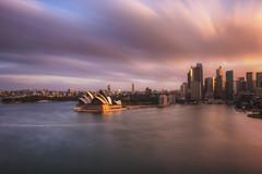 Sydney Harbour Sunset (satochappy) Tags: harbour sydney sydneyharbour sydneyoperahouse circularquay le nd 10stop